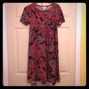 Lularoe Carly XS. Beautiful pattern!